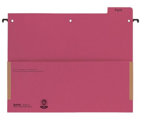 Leitz 1829 Hänge-Fehltasche Serie 18 rot