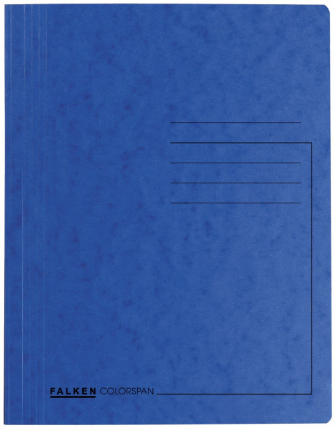 Falken Schnellhefter Colorspankartor DIN A4, dunkelblau