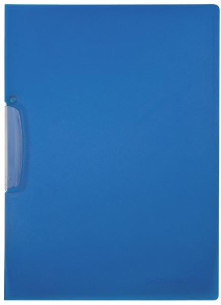 Q-Connect Klemm-Mappe blau, Fassungsvermögen bis 25 Blatt
