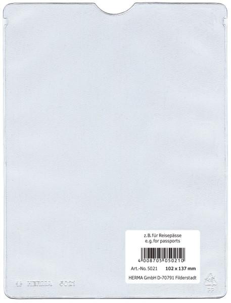 Herma 5021 Ausweishüllen 102x137 mm für Reisepässe