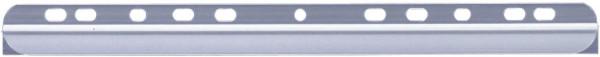 Klemmschiene mit Abheftleiste, für ca. 30 Blatt, transparent, 50 Stück