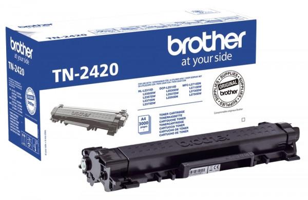 Brother® TN2420 Toner schwarz, 3.000 Seiten