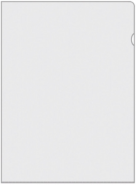 Veloflex® 4545 Sichthülle Standard - 0,13mm, glasklar, PVC