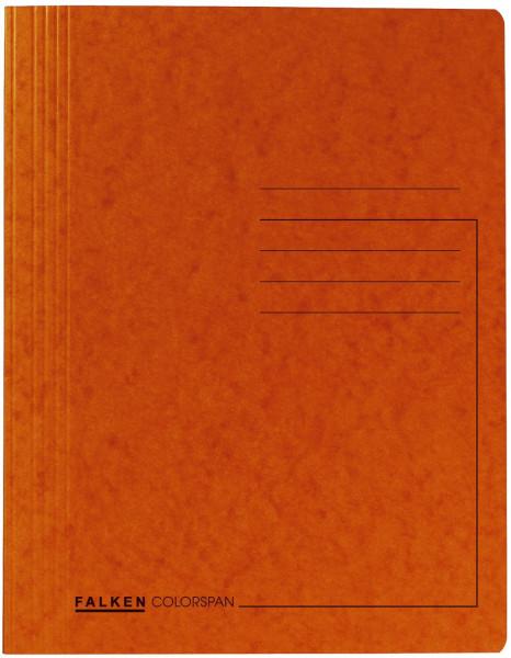 Falken Schnellhefter Colorspankarton DIN A4, orange