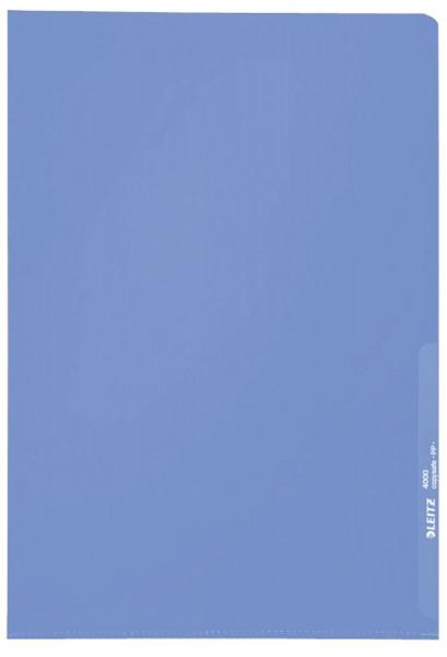 Leitz 4000 Standard Sichthülle blau, A4, PP-Folie, genarbt, 0,13 mm