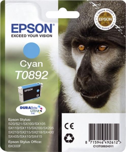 Epson T0892 Inkjet-Druckpatronen blau, 220 Seiten, C13T08924011