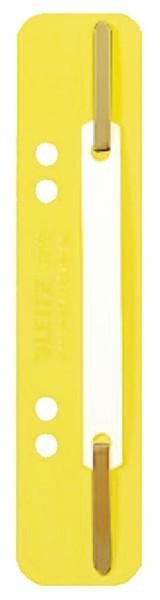 3710 Einhänge-Heftstreifen PP, kurz - gelb, 25 Stück