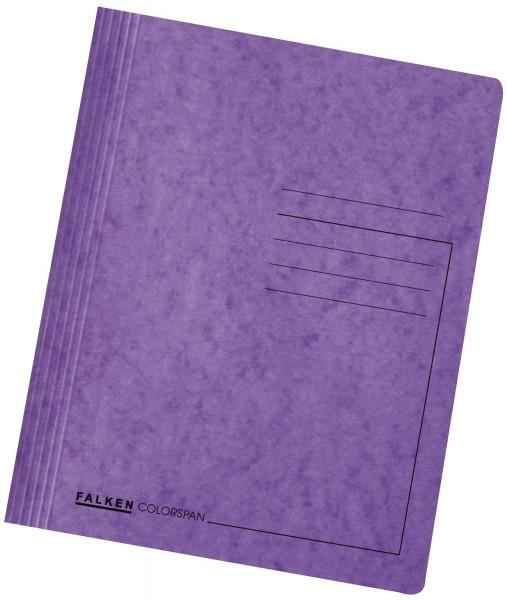 Falken Schnellhefter Colorspankarton DIN A4, violett