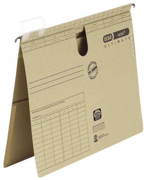 Hängehefter vertic® ULTIMATE®, A4 kfm. Heftung mit Tasche