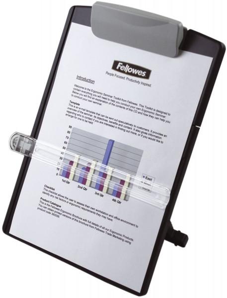 Standard Konzepthalter - schwarz/silber
