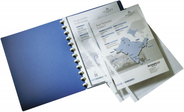 Durable Erweiterunssatz DURALOOK® COVER, 10 Sichthüllen, transparent