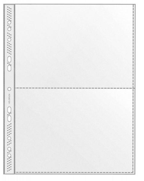 Veloflex® 5335 Sammelhülle - A4, 2-tlg, 100 Stück