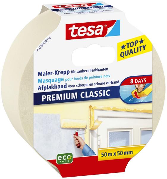 Papier-Klebeband Maler-Krepp Classic, 50 m x 50 mm, beige