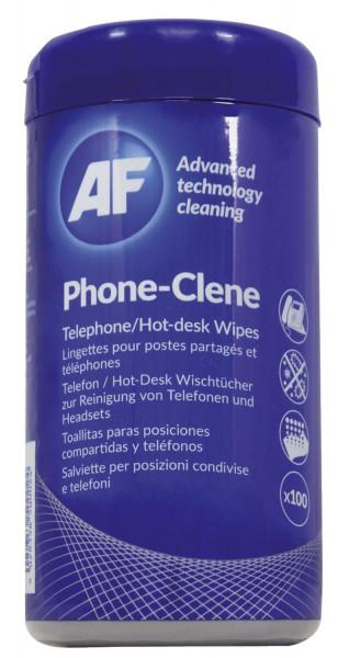 Phone Clene - 100 Reinigungstücher in Spenderbox