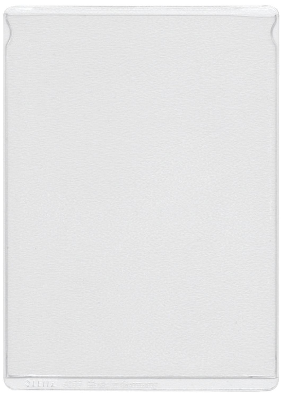 für Personalausweis alt farblos PVC A7 genarbt Pack mit 4077 Ausweishülle