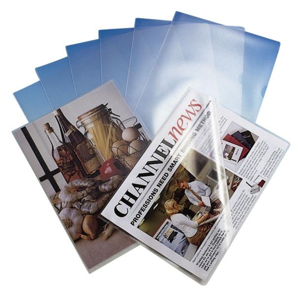 Esselte Sichthülle Standard Plus, A4, PP, genarbt, 100 Stück, farblos