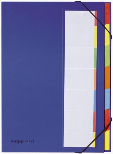 Pagna® Deskorganizer mit 7 Fächern, blau