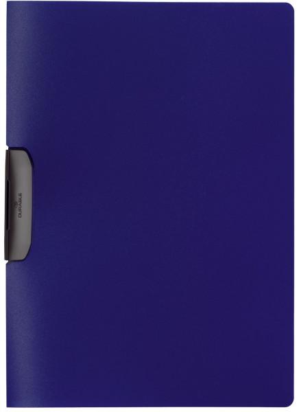 Klemm-Mappe DURASWING® - A4, dunkelblau/graphit