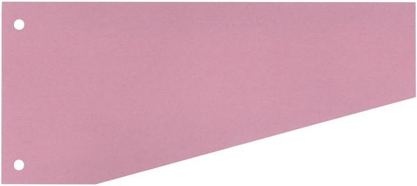 Trennstreifen Trapez - 190 g/qm Karton, rot, 100 Stück