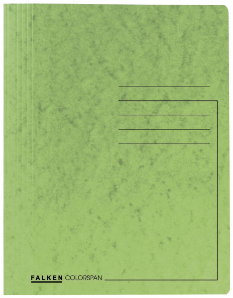 Spiralhefter Colorspankarton - für DIN A4, hellgrün