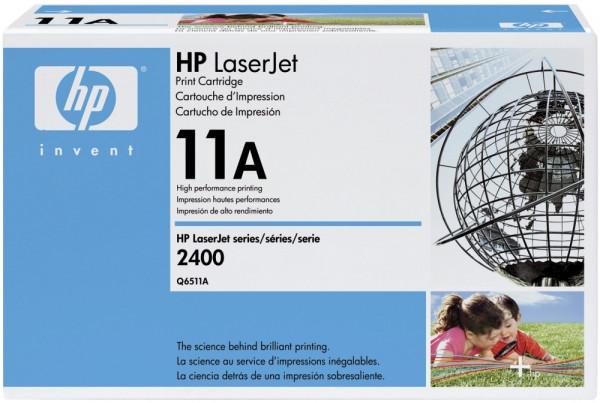 HP® Q6511A Druckkassetten schwarz, 6.000 Seiten