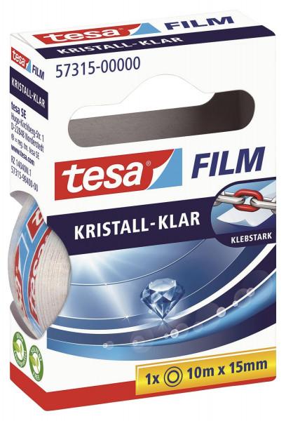 Tesa® Klebefilm kristall-klar Bandgröße (L x B): 10 m x 15 mm