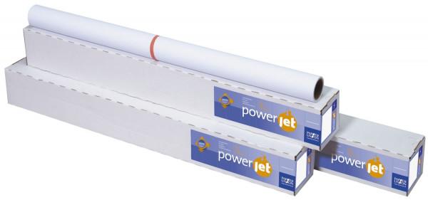 PowerJet Premium Plotter Inkjet-Papier - 914 mm x 40 m, 120 g/qm, 1 Rolle
