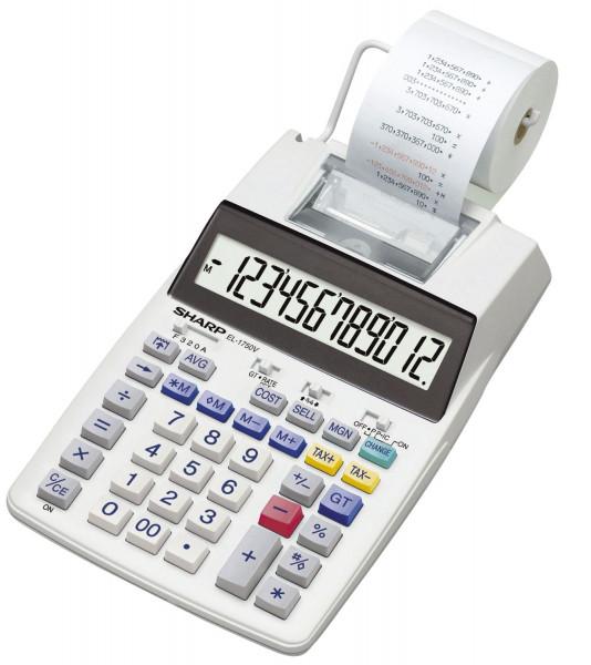 SHARP EL1750V druckender Tischrechner