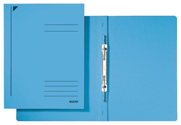 3040 Spiralhefter, A4, kfm. Heftung, Colorspankarton, blau