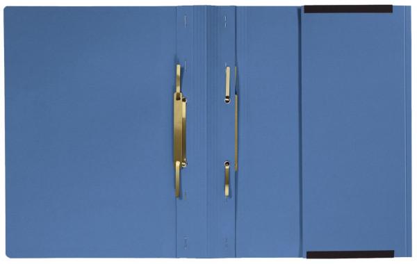 Kanzleihefter A gefalzt - Linksheftung (Behördenheftung), 1 Tasche, 2 Abheftvorrichtung, blau