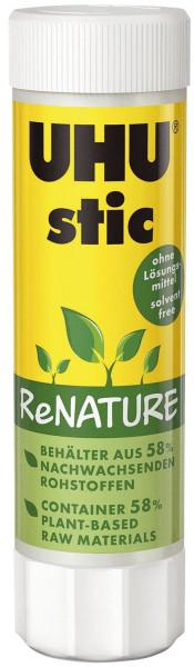 UHU® Klebestift 40g stic ReNATURE ohne Lösungsmittel