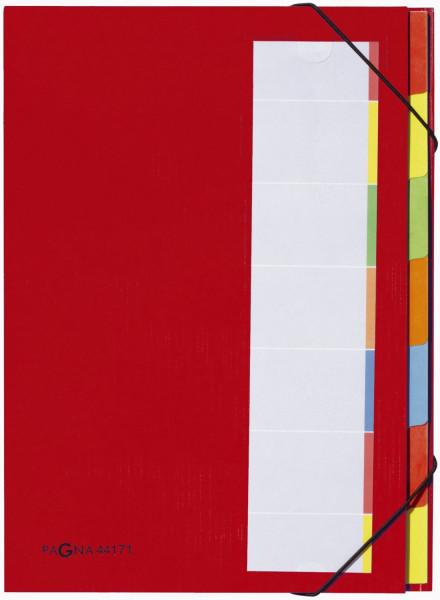 Pagna® Deskorganizer mit 7 Fächern, rot