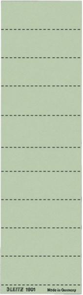 1901 Blanko-Schildchen 1901, Karton, 100 Stück, grün
