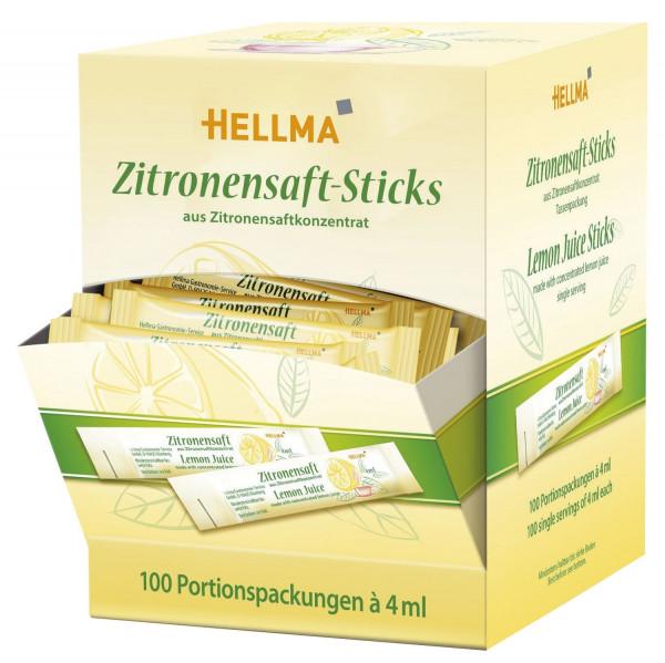 Zitronensaft-Sticks 100 Stück a 4ml