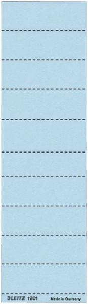 1901 Blanko-Schildchen 1901, Karton, 100 Stück, blau