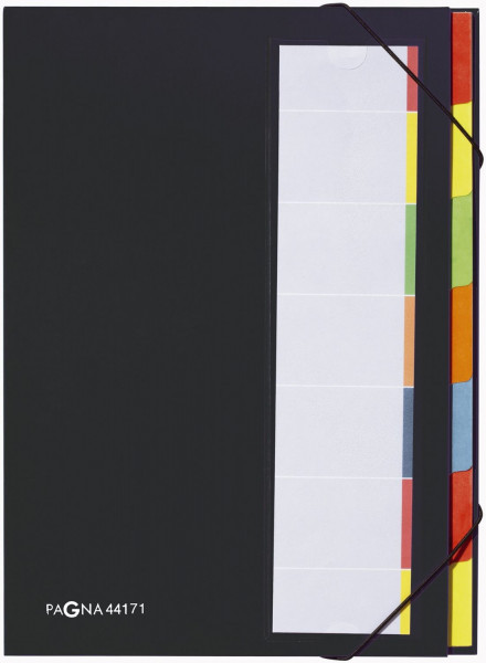 Pagna® Deskorganizer mit 7 Fächern, schwarz