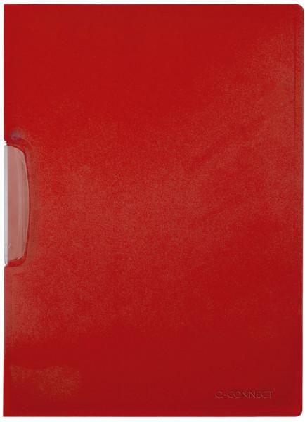 Q-Connect Klemm-Mappe rot, Fassungsvermögen bis 25 Blatt