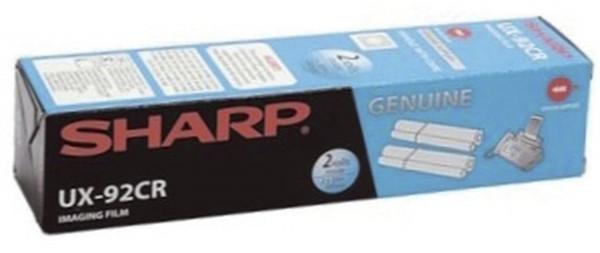 SHARP Thermotransfer-Rollen schwarz, 180 Seiten, UX92CR