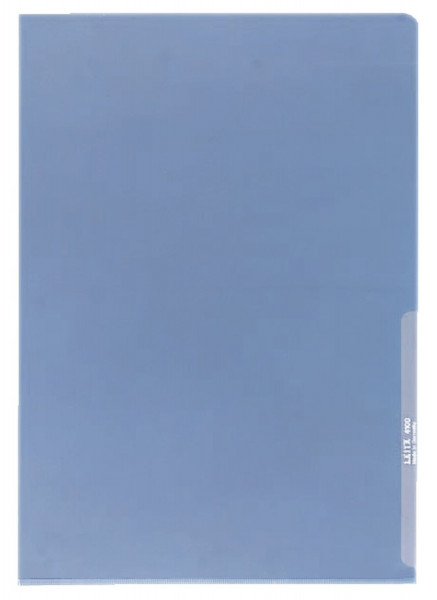 Leitz 4100 Sichthülle Premium blau, A4, PVC, dokumentenecht