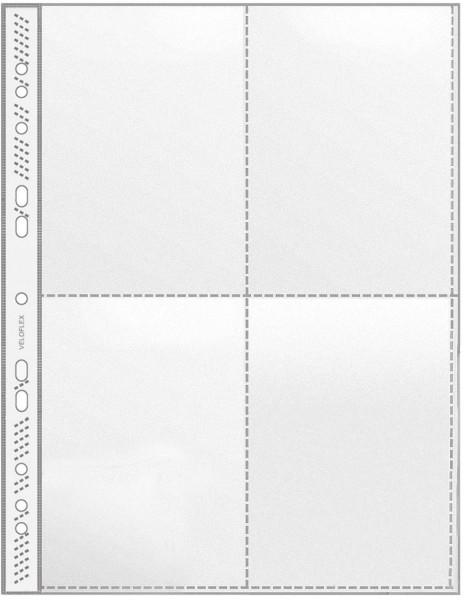 Veloflex® 5336 Sammelhülle - A4, 4-tlg, 100 Stück