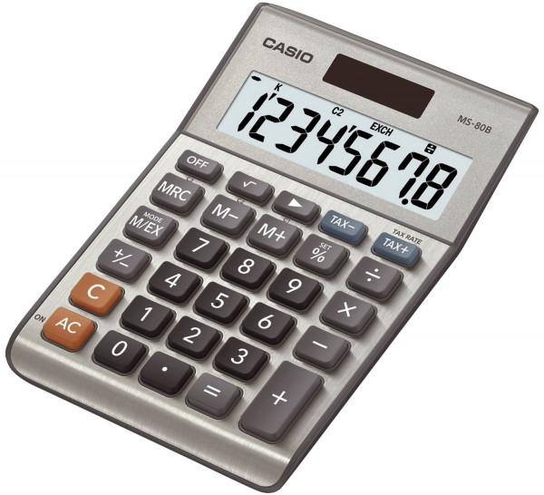 Casio® Solar Tischrechner MS80B
