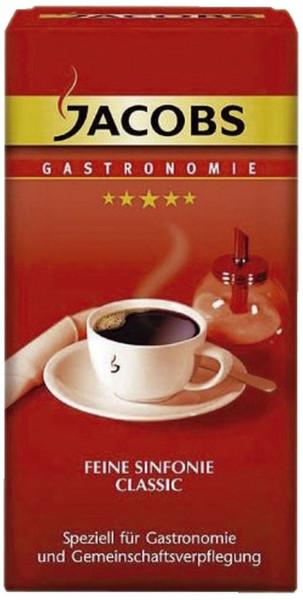 Jacobs Kaffee in Gastronomie Qualität - Sinfonie Classic, gemahlen