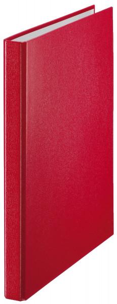 4209 Standard Ringbuch, 2 Ringe - A4, Ring-Ø 16 mm, rot