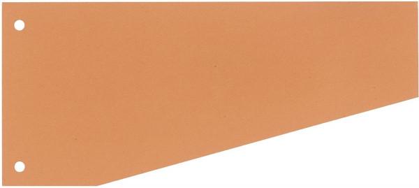 Trennstreifen Trapez - 190 g/qm Karton, orange, 100 Stück