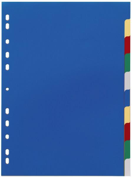 Durable 6740 Register PP, blanko, farbig, A4, 10 Blatt