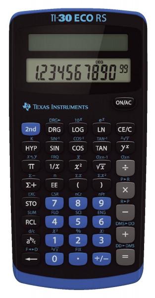 Texas Instruments Taschenrechner TI-30 ECO RS, Solar-Energie, 79 x 153 x 18 mm