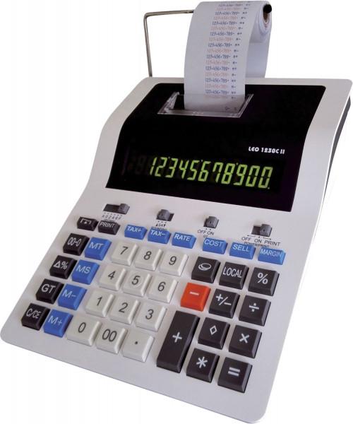 LEO® 1230C II druckender Tischrechner