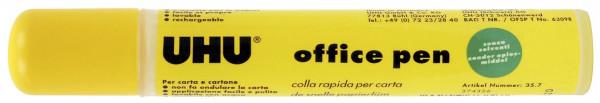 UHU® office pen Stiftform - 60 g, nachfüllbar, ohne Lösungsmittel