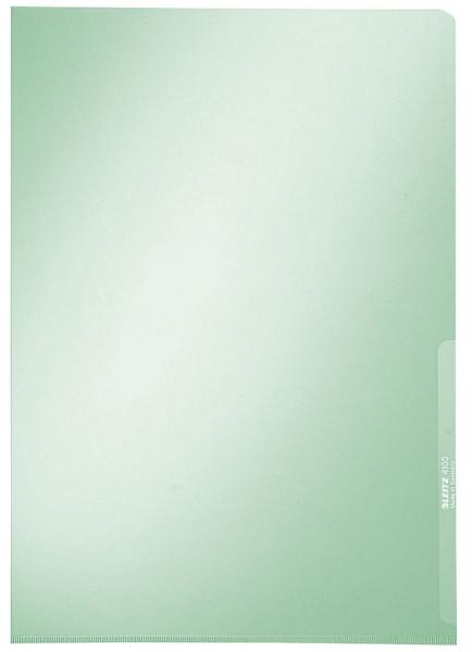 Leitz 4100 Sichthülle Premium grün, A4, PVC, dokumentenecht,
