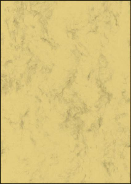Marmor-Papier, sandbraun, A4, 200 g/qm, 50 Blatt